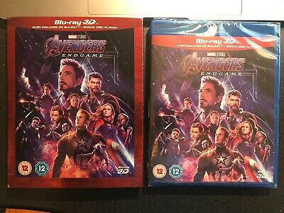 Avengers Endgame 2019 3D Blu Ray Region Free in stock ready to ship NEW SEALED