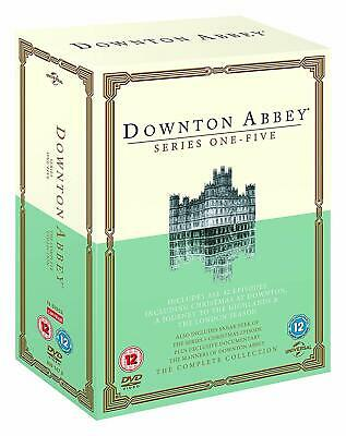 DOWNTON / DOWNTOWN ABBEY - The Complete Series 1-5 + Christmas Specials DVD NEW