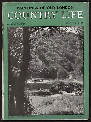 Country Life Aug 1951 TITTEREL'S MARSH ESSEX ASHBY ST. LEDGERS PERRY PEARS