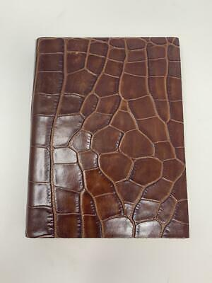 Francesco Lionetti Genuine Leather Journal Made in Italy Rough edges Florentine