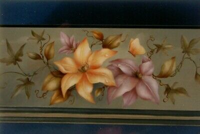 """Sharon Hamilton tole painting pattern """"Clematis and Ivy"""""""