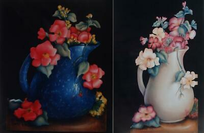 """Cheri Rol vintage tole painting pattern """"Pitcher 'n' Blossoms"""""""