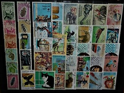 World Wide Stamps / Excellent Laos for your Collection !!!!