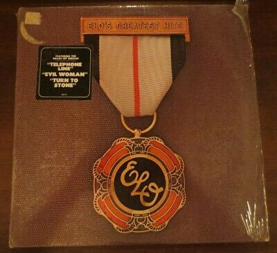 ELO's Greatest Hits LP in Shrink W/Hype Sticker! 1979 Jeff Lynne Beatles Jet