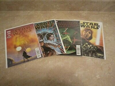 Star Wars 5 random comic grab bags, from the current Marvel Star Wars series