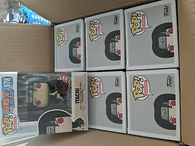"Funko Pop Animation : Naruto Shippuden ITACHI #578 Vinyl Exclusive ""MINT"""