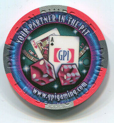 Paulson GPI Manufacturer Sample G2E 2011 No Cash Value Casino Chip