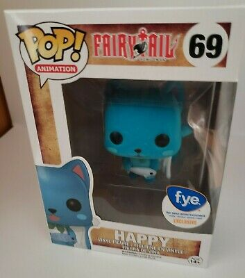 Funko Pop! Animation Fairytail Flocked Happy FYE Exclusive #69