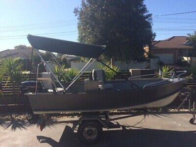 2018 Hidea ( 4 hrs use) on refurbed tinny, check out what you get!