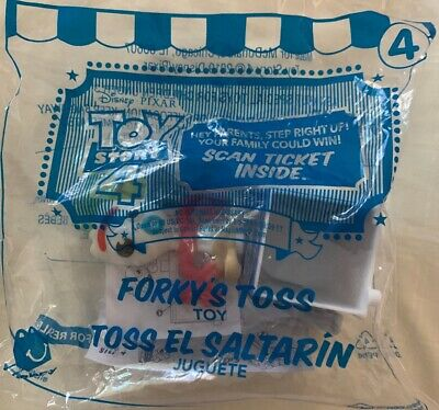 McDonald's Toy Story 4 Happy Meal Toys #4 Forky's Toss SHIP FAST with TRACKING