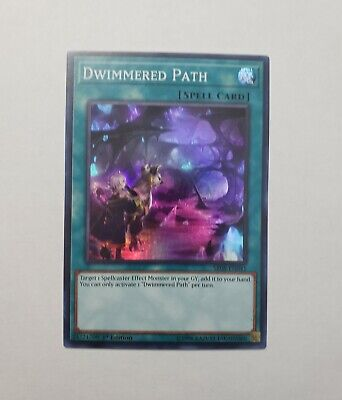Dwimmered Path Super Rare Good Yugioh Spell Magic Card The Best Great Deal