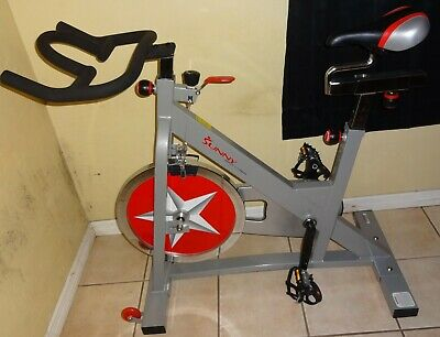 Pro Indoor Cycling Bike by Sunny Health & Fitness SF-B901(LOCAL PICKUP ONLY)