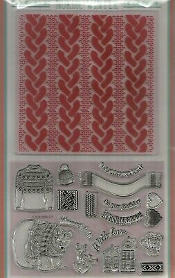 Nordic Winter Stamps & Embossing Folder.