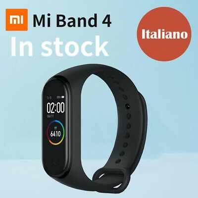 Xiaomi Mi Band 4 OLED- Watch-Waterproof-XIAOMI ORIGINALE-NERO
