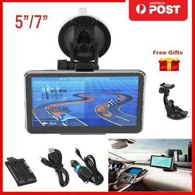 "5"" 7'' Truck Car GPS Navigator Touch Screen 128/256RAM+8G Newest Free Maps  NL"