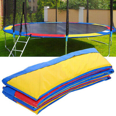 10FT Replacement  Trampoline Rainbow Pad Cover Round Spare Safety Outdoor