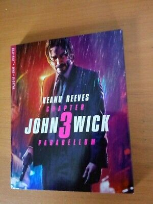 John Wick Chapter 3: Parabellum (2019) - Blu-ray Slipcover