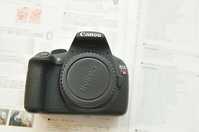AS IS Canon EOS Rebel T5 18.0MP Digital SLR Camera