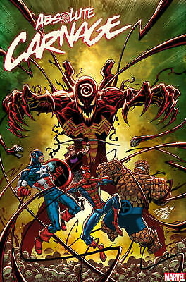Absolute Carnage #3 (Of 5) Ron Lim Variant Marvel Comics 2019 Eb73