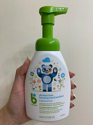 Babyganics Alcohol-Free Foaming Hand Sanitizer, Fragrance Free