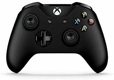 Microsoft Xbox One S Wireless Bluetooth Controller Genuine WL3-00018 Black  BULK
