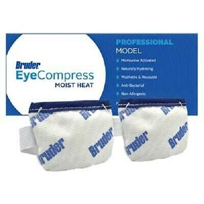Bruder Moist Heat Eye Compress Naturally Hydrating Microwave Activated Reusable