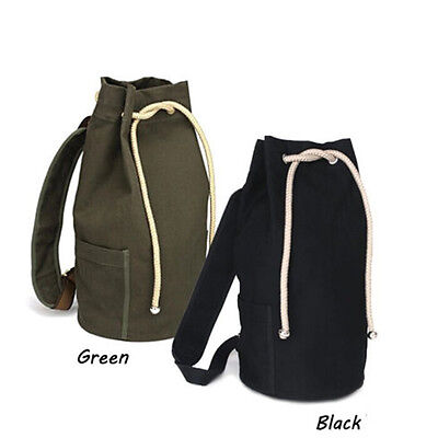 Outdoor Sport  Pack Gym Duffle Bag Drawstring Backpack for Travel School new~