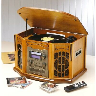 SECONDS Antique HiFi 8 in 1 with CD Recorder
