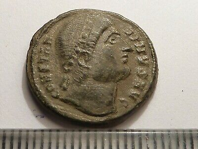 4193Ancient Roman copper coin Constantine the Great - 4 century AD , AE18