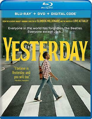 Yesterday Blu Ray ONLYDisc ONLY with Slip Cover ***LIKE NEW*** FREE SHIPPING