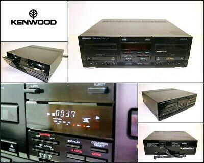 KENWOOD X-848 Stereo Double Auto Reverse Cassette Deck Made in Japan