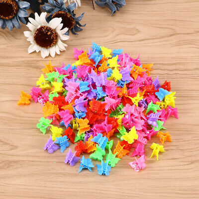 Mini Colored Cute Plastic Hair Jaw Claw Styling Clip Wholesale Lot of 1152 Clips