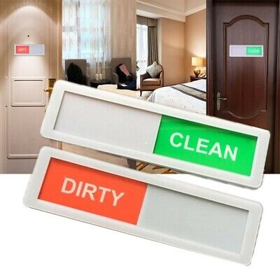 Creative Durable Dishwasher Magnet Clean Dirty Sign Gift New Home Using