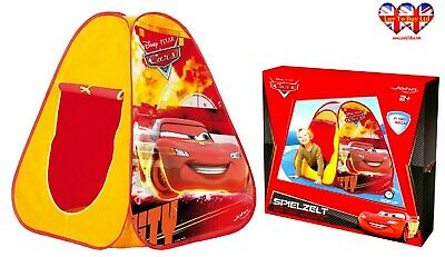 Disney Cars Pixar POP UP Play Tent,Children's Tent,Official Licensed