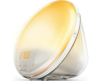 Philips HF3531/01 Wake-Up Light Sonnenaufgangfunktion Touchdisplay