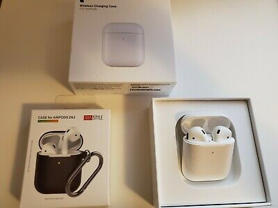 Apple AirPods 2nd Generation with Wireless Charging Case - BRAND NEW, AUTHENTIC