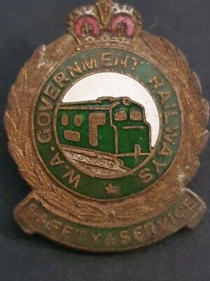 Western Australian Government Railways - Safety & Service Badge