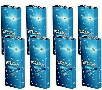 8 X Rizla Polar Blast Extra Slim Menthol (5.7Mm), 60 Filter Tips Per Box