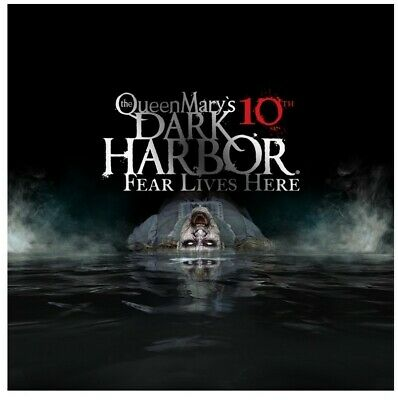 Queen Mary Dark Harbor Fast Fright Pass Admission eTicket