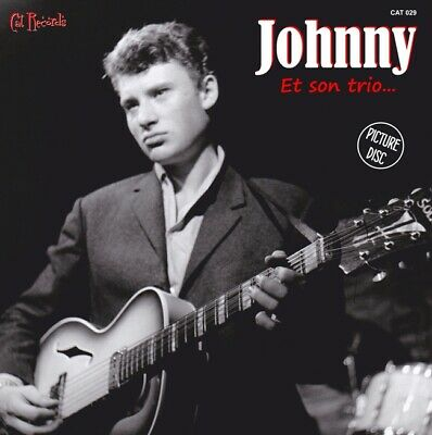 Johnny Hallyday 45t Picture Disc - Johnny et son trio (Maquette 1959) - 5 titres