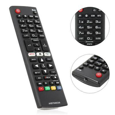 Replacement TV Remote Control Smart for LG AKB75095308 with Netflix Amazon Keys