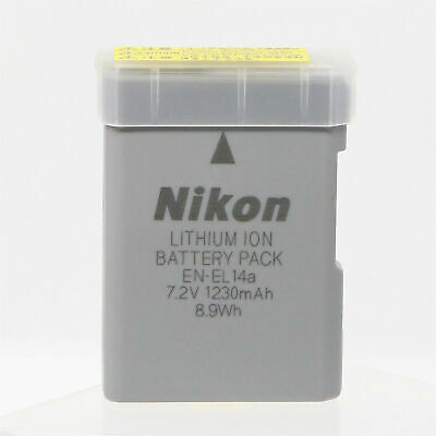 Genuine Original Nikon EN-EL14a EN-EL14 Battery for MH-24 D3300 D5200 D5100 5500