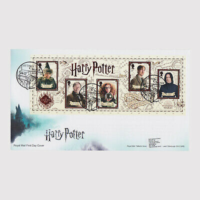 2018 Harry Potter M/S First Day Cover (FDC) - London Postmark