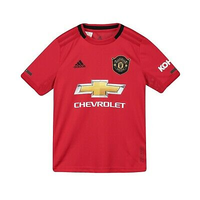 F37 Kids 9-10 yrs Manchester United Home cup Shirt 19-20 FREE Martial 11