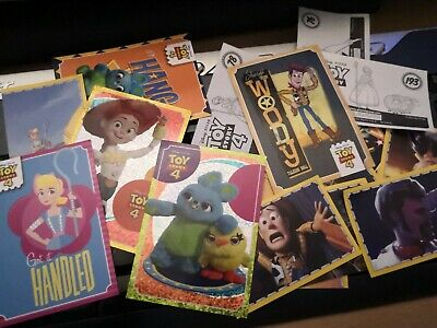 Panini TOY STORY 4 ☆ SINGLE CARDS  ☆  BUY 2 GET 8 FREE ☆  Disney//Pixar TS1-TS50