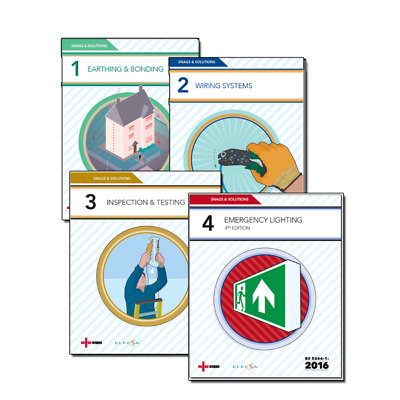 NICEIC Snags and Solutions 1-4 Bundle | 18th Edition