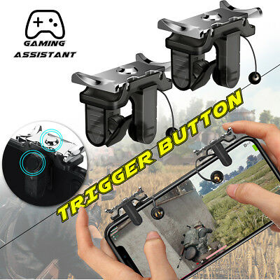 For PUBG Controller Mobile Phone Game Shooter Trigger L1R1  Fire Gaming Button🔥