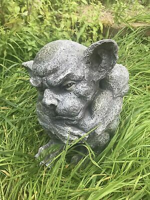 Latex Mould to Create this Large Garden Gargoyle Ornament, Perfect for Concrete