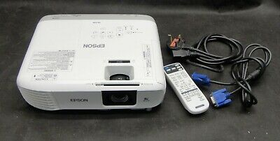 Epson EB-X39 XGA/HDMI LCD Projector - Projects Excellent Image - Lamp 761 hrs