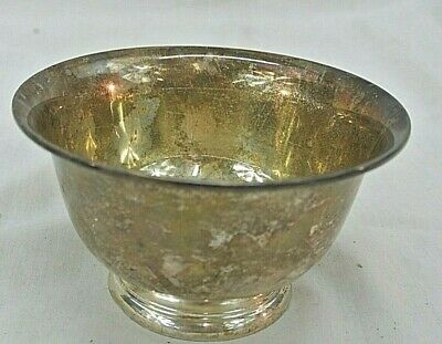 S. Kirk & Sons, Sterling Silver Bowl, Pattern No. 175, 118.5 Grams